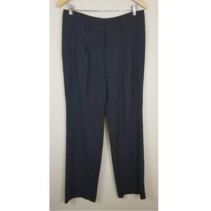 AKRIS Wool Pleated Trouser Pant Charcoal